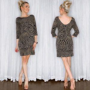 Banana Republic Leopard Print Dress